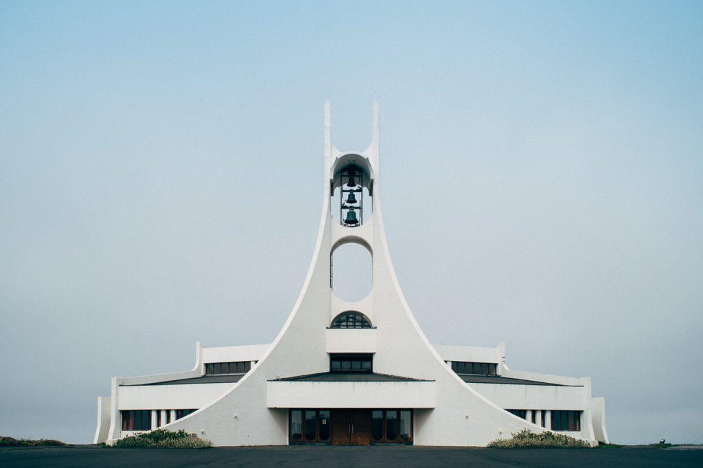 Stykkishólmskirkja construite en 1990